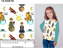 Malý princ +varianty-sublimační digitální tisk mavaga design