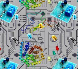 Elektrosoučástky -sublimační digitální tisk