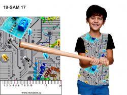 Elektrosoučástky -sublimační digitální tisk mavaga design