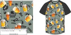 Pivo-sublimační digitální tisk mavaga design