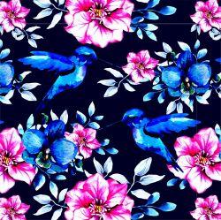 Modrý ptáček+varianty -sublimační digitální tisk | Funkční úplet TORINO 140 gsm, GARZATO 200gsm- funkční úplet počesaný, Kočárkovina , LYCRA 200, Micropeach, Softshell jarní 285 gsm, Softshell letní pružný 220gsm, Softshell zimní 320 gsm
