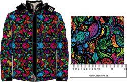 Barevné ornamenty-sublimační digitální tisk mavaga design