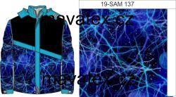 Noční nebe modré-sublimační digitální tisk mavaga design