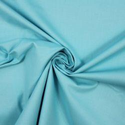 Světlá nebeská modrá bavlna oboustranně barvená
