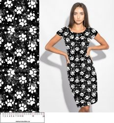 Softshell tlapky černo-bílé- BERÁNEK mavaga design