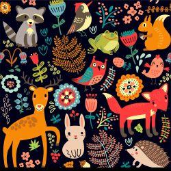 Softshell lesní zvířátka- BERÁNEK