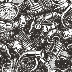 Velké motory- digitální tisk