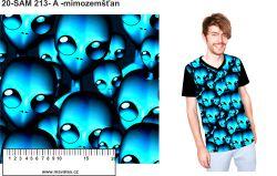 Mimozemšťan -digitální tisk mavaga design