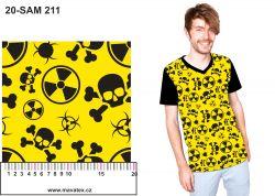 Danger +barevné varianty -digitální tisk mavaga design