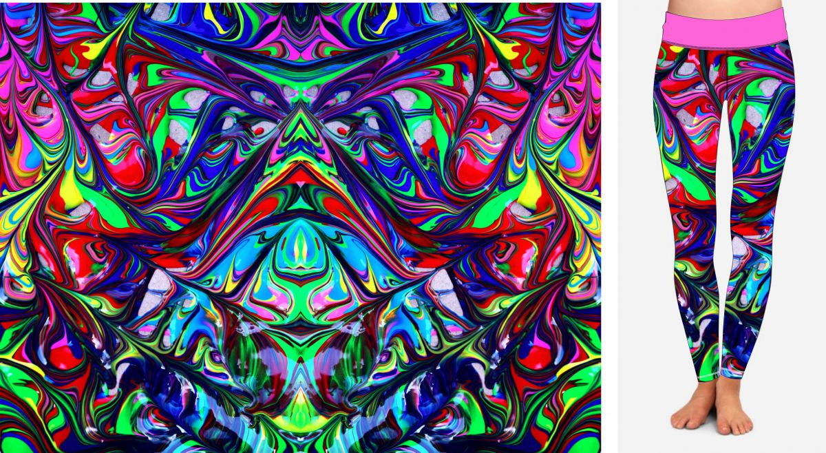 PANEL NA LEGINY- abstract - GARZATO mavaga design