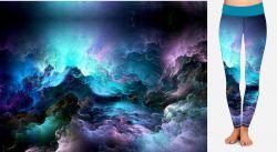 PANEL NA LEGINY- nebe před bouřkou- GARZATO