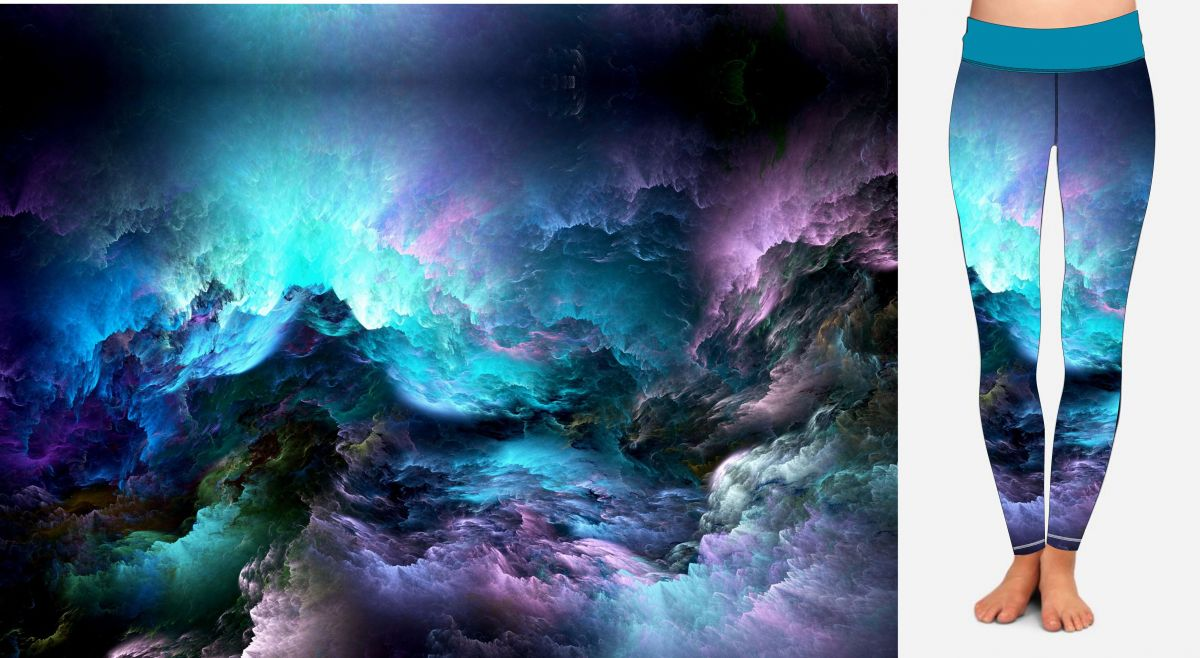 PANEL NA LEGINY- nebe před bouřkou- varianty mavaga design