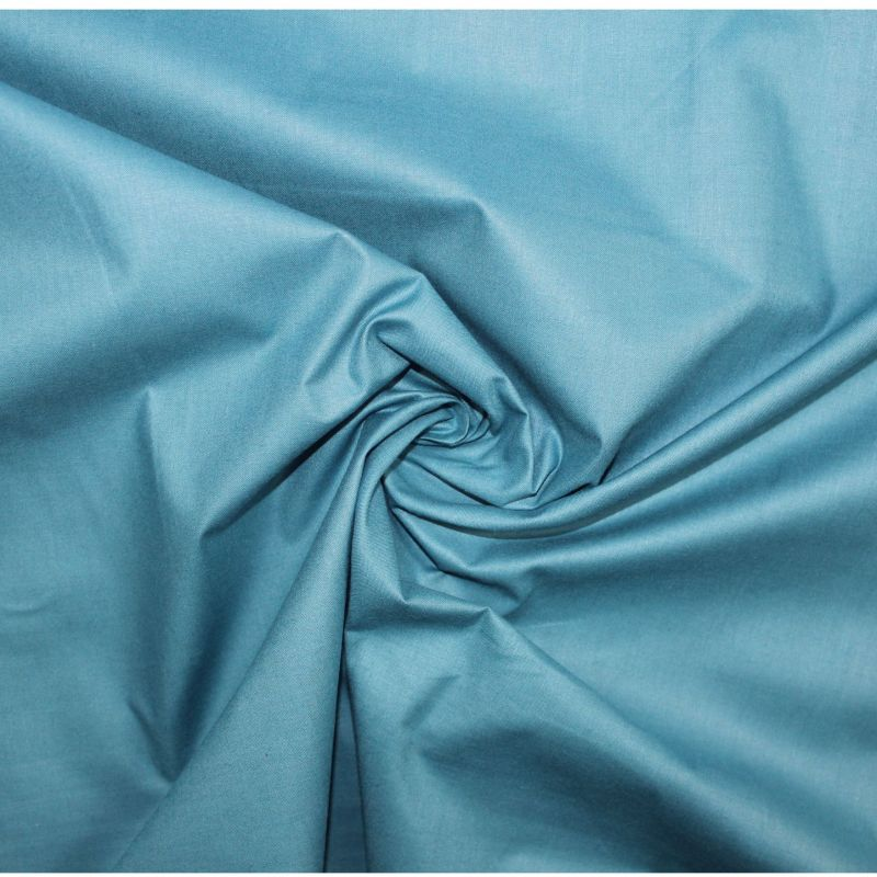 Smaragdová bavlna oboustranně barvená vyrobeno v EU- atest pro děti bavlna