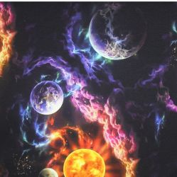 Teplákovina planety 3- digitální tisk