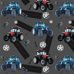 Softshell traktory na šedé - BERÁNEK