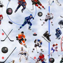 Hokej- digitální tisk