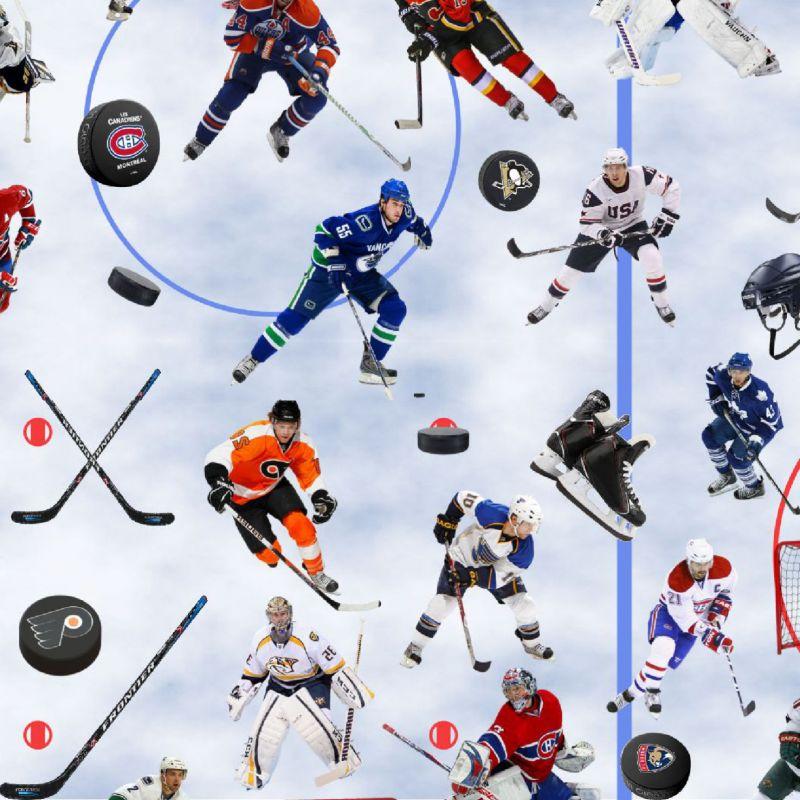 Hokej- digitální tisk mavaga design