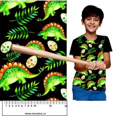 Dinosaurové s vejci -digitální tisk mavaga design