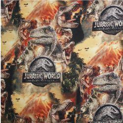 Teplákovina dinosaurové hlavy -digitální tisk