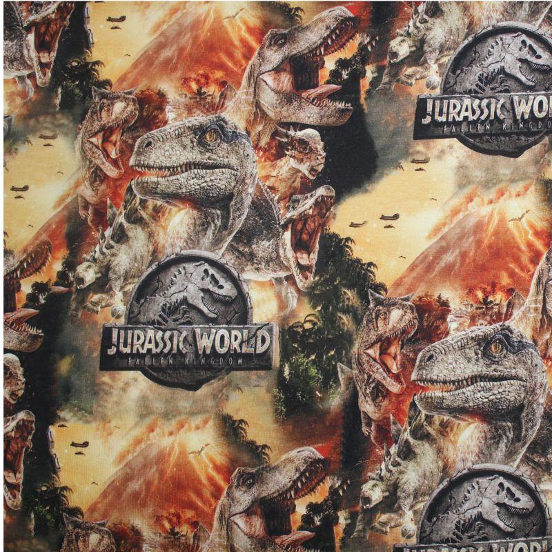 Teplákovina dinosaurové hlavy -digitální tisk vyrobeno v Turecku