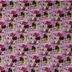 Teplákovina myška na růžové - digitální tisk