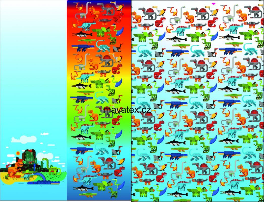 Přední Softshell panel- přechodový ( zimní+letní) - draci vyrobeno v EU