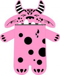Pyžamožrout  - DRAK růžový-soft