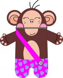 Pyžamožrout  - opice holka-soft