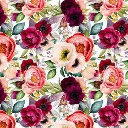 Softshell BOHO květy -BERÁNEK