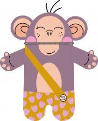 Pyžamožrout  - opice unisex-bavlna