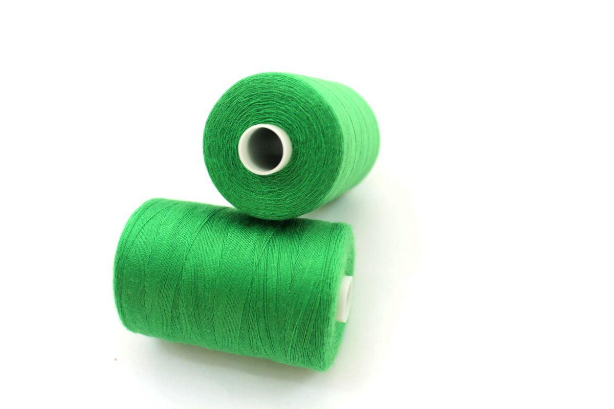 Nit zelená trávová 40/2 -1000 m - barva 239 vyrobeno v EU