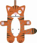 Pyžamožrout  - kočička hnědá REZATÁ -SOFT