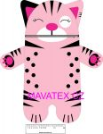 Pyžamožrout  - kočička růžová -SOFT