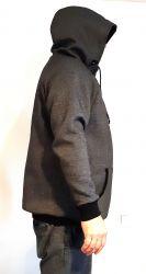 Eletronický střih -Pánská mikina raglan ZÁKLADNÍ s kapucí Mavatex