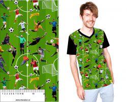 Fotbal -zelené hřiště- digitální tisk mavaga design