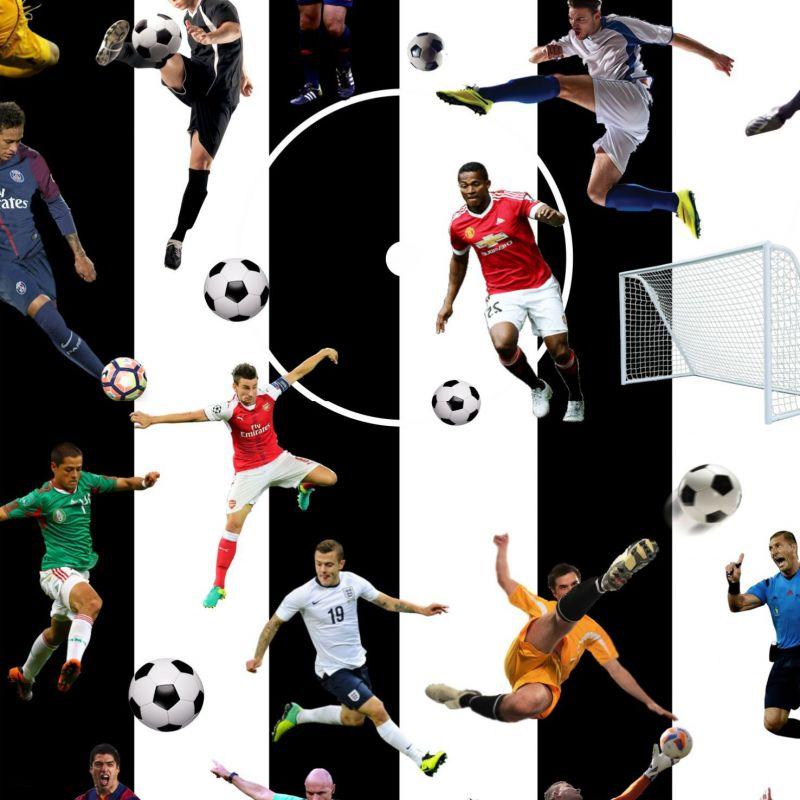 Fotbal -pruhy černé - digitální tisk mavaga design