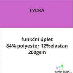 Lycra úplet vlastní vzor -CELOTISK