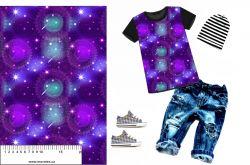 Mandaly na fialové-sublimační digitální tisk mavaga design