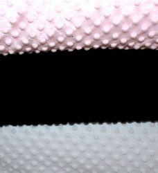 Minky světle růžové - 300 gsm vyrobeno v EU