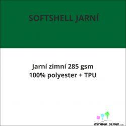 Softshell 285 JARNÍ vlastní vzor -CELOTISK