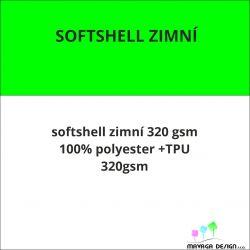 Softshell 320 vlastní vzor -CELOTISK