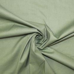 Střední zelená oboustranně barvená bavlna