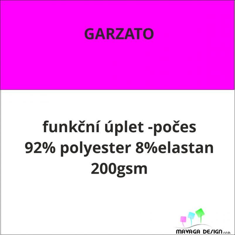 Úplet premium počesaný GARZATO vlastní vzor -CELOTISK český výrobce