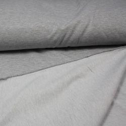 Jednolícní úplet šedá mellange optic -elastan -200 gsm EU-úplety atest pro děti