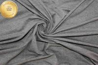 Jednolícní úplet tmavá mellange -barva 813 EU-úplety atest pro děti