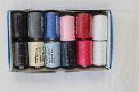 Krabička nití  - mix barev