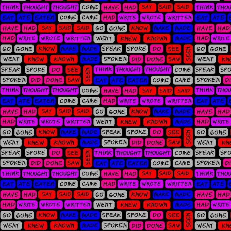 Angličtina RŮŽOVÁ verze - digitální tisk mavaga design