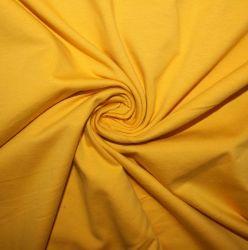 Jednolícní úplet sluníčková žlutá-  100%bavlna