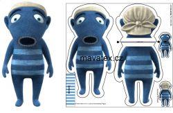 LICHOŽROUT HIHLÍK- ponožkožrout -hotový výrobek Mavatex