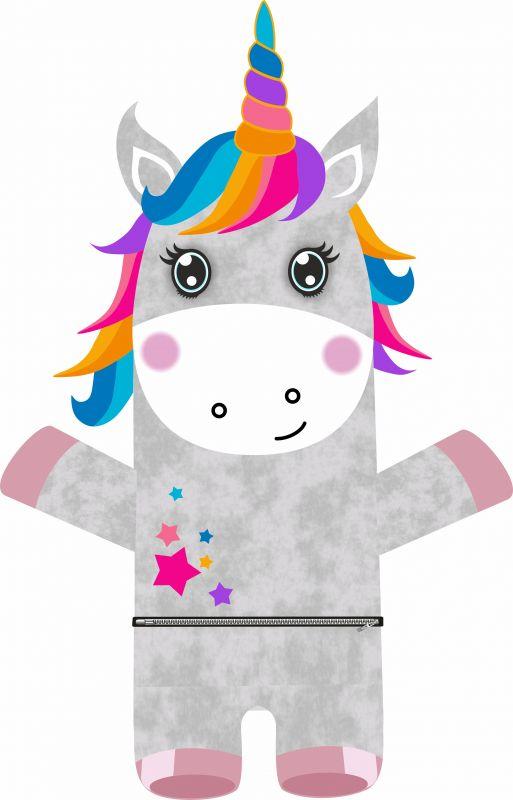 Pyžamožrout - jednorožec -SOFT vyrobeno v EU- atest pro děti bavlna